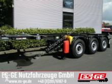semi reboque Krone 3-Achs-Containerchassis 20 ft