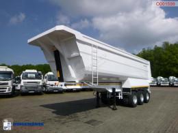 semi reboque Galtrailer Tipper trailer steel 40 m3 / 68 T / steel susp. / NEW/UNUSED