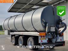 semi remorque Floor Jako 36m3 Mest tank GPS+Weeg+Monstersysteem Pomp Liftas 2x Suuras FLO-17-30H2