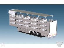 semirremolque Cuppers 3OZ4: NEW CONCEPT!! 2/3-DECK TRAILER WITH 9M2 ANIMAL BOX