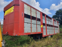semi reboque Irma Oplegger 2 Deck Cow trailer