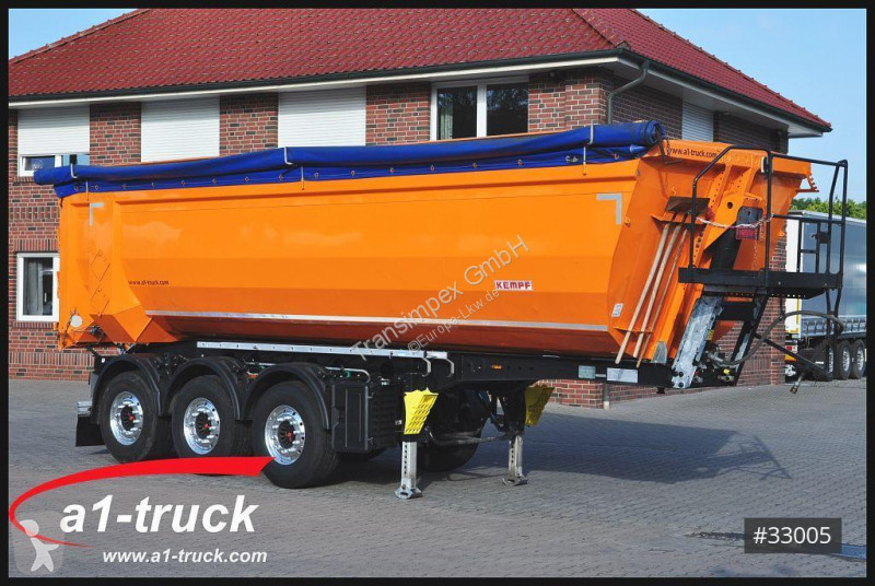 Voir les photos Semi remorque Kempf SKM 39A10, Hardox Stahlmulde, schlammdicht