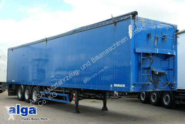 Voir les photos Semi remorque Reisch RSBS-35/24 LK/82 m³./Cargo Floor/Plane/Liftachse