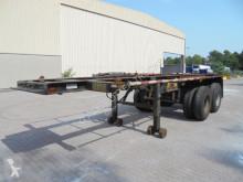 naczepa do transportu kontenerów używany