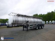návěs Crossland Chemical tank inox 22.5 m3 / 1 comp