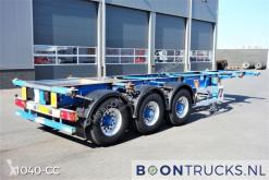 semirimorchio Groenewegen 20-30 ft ADR chassis