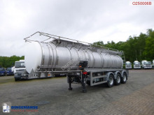 semiremorca Crossland Chemical tank inox 22.5 m3 / 1 comp / ADR 08/2019