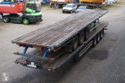 semi remorque Pacton Flatbed BPW eco plus / Drum brakes