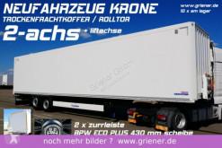 semi remorque Krone SZK 18/eLB4 LI / ROLLTOR / LIFTACHSE /ZURRLEISTE