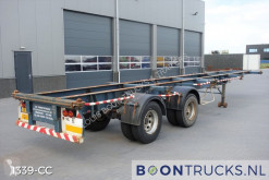 Netam D-32-X *STEEL SUSPENSION* 20-40ft semi-trailer