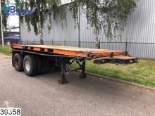 naczepa Van Hool Container 20 FT, Type S-201, Steel suspension