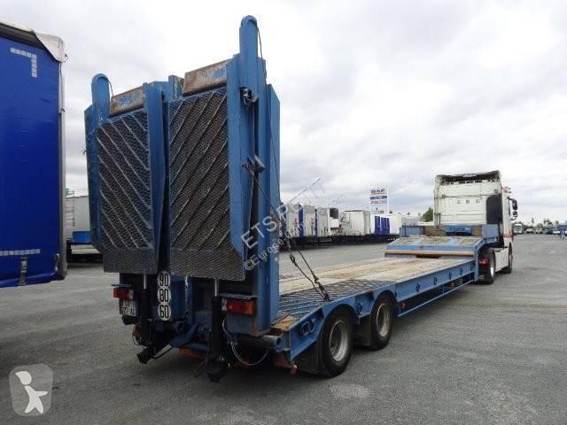 Vedeţi fotografiile Transport utilaje Castera Porte-engin 2 essieux