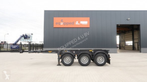 semi reboque Broshuis 20FT ADR-chassis, 3 axles, ADR (valid 02/2020), empty-weight: 3.640KG, valid MOT till 2/2020