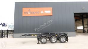 semirremolque Broshuis 20FT ADR-chassis, 3 axles, ADR (valid 02/2020), empty-weight: 3.640KG, valid MOT till 2/2020