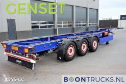 trailer Schmitz Cargobull SGF S3 40-45ft CHASSIS + CARRIER GENSET