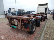 semirimorchio Craven Tasker 20 FT chassis / Steel suspension / BPW axles