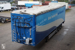 semi remorque Stas Walking Floor Aluminum chassis and rims