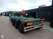 semi reboque Broshuis MFCC / 2x Extendable / 2x Lift axle