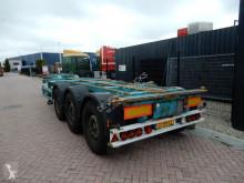 semirremolque Broshuis MFCC / 2x Extendable / 2x Lift axle