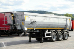 Mega TIPPER 28 M3 / WHOLE STEEL / LIFTED AXLE / semi-trailer