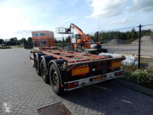 semi reboque Broshuis MFCC 3UCC-39/45EU / SAF Disc / 2x Extendable / Lift axle