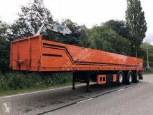 naczepa KWB 3 asser steentrailer + 14 ton kennis