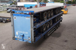 semi reboque Montracon Flatbed DRUM, ROR, 13.6M