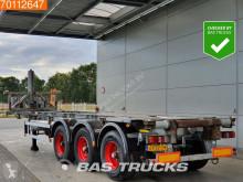 semi remorque Burg Kipp Containerchassis 1x20 1x30 Ft. Elektro / Hydraulic