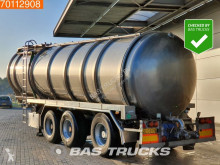 Vocol Stainless Steel 38.000 Ltr. Pump semi-trailer