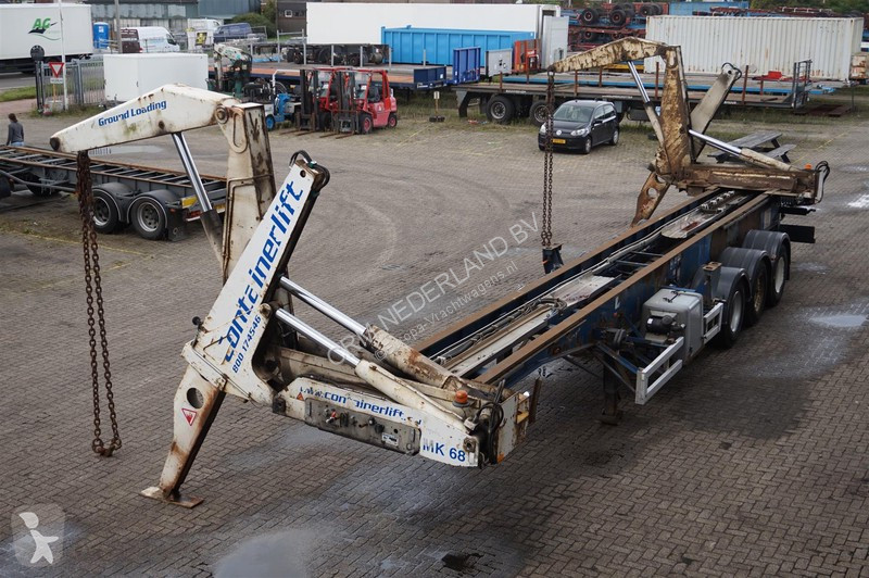 Voir les photos Semi remorque Steelbro Side loader 40ft / 2x 20ft. / With Engine