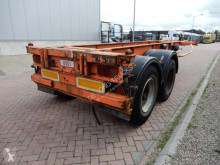 semi remorque Krone 20 FT chassis / Steel suspension / Double montage