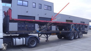 Wielton flatbed semi-trailer