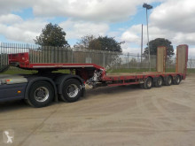 semirremolque Nooteboom 4 Axle Extendable Step Frame Low Loader Trailer c/w Hydraulic Fl