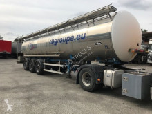 semi remorque Magyar VANHOOL OPLEGGER TANK IN INOX 30000 L - 4 COMP