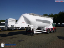 Spitzer Powder tank alu 34 m3 / 1 comp + engine/compressor semi-trailer