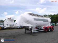 naczepa Spitzer Powder tank alu 34 m3 / 1 comp + engine/compressor