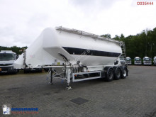 Feldbinder Powder tank alu 40 m3 / 1 comp semi-trailer
