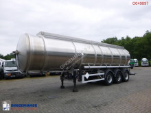 Magyar Fuel tank inox 35.3 m3 / 3 comp + pump / ADR 04/2020 semi-trailer