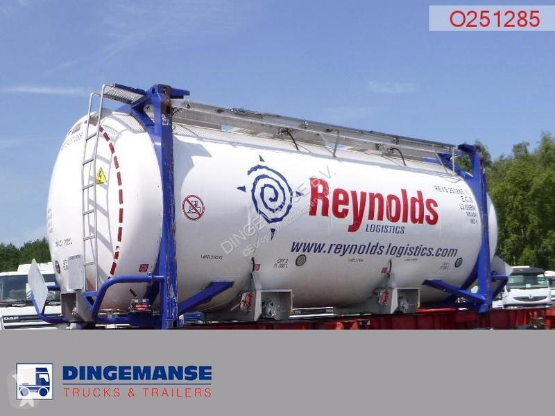 Преглед на снимките Полуремарке Magyar Tank container IMO 4 / 31 m3 / 20 ft / 3 comp