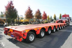 porte engins Cometto 8 AXLES SEM8 AXLES SEMI TRAILER LOW LOADER X84AH/3000 105 T 8 AXLES STEERING