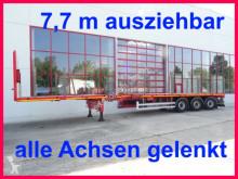 Doll 3 Achs Tele- Auflieger, ausziehbar 21,50 mhydr. semi-trailer