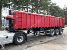 semirimorchio LAG 31m³ BENNE CLINKER - 3 ESS. SAF - CHASSIS ACIER / BENNE ALU - SUSP. AIR - STEEL CHASSIS / ALU TIPPER - AIR SUSP