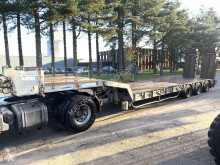 Kaiser LOW LOADER - 53 TONS - PORTE CHAR - DOUBLE RAMPS / DOUBLE RAMPES - 1 STEERING AXLE / SUIVEUR semi-trailer