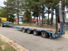 semi remorque Nooteboom 67T LOWLOADER ~ OSD-73-04V - 4 axles - SAF - 6m70 EXTENDABLE - 2 STEERING AXLES - HYDR SUSP / HYDR RAMPS - WIDENERS