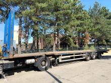 Van Hool 3-AS MEGA FLATBED / PLATTE TRAILER / PLATEAU - ROR - 13m60 - 445/45R19.5 semi-trailer