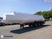 Indox Fuel tank alu 40. 5 m3 / 6 comp semi-trailer