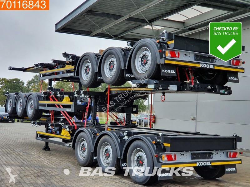 Voir les photos Semi remorque Kögel Stack of 3! Port-MAXX 40 Simplex *New Unused* Ausziehbar 2x20-1x30-1x40 ft.