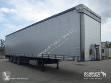 полуремарке Schmitz Cargobull Curtainsider Mega Side door both sides
