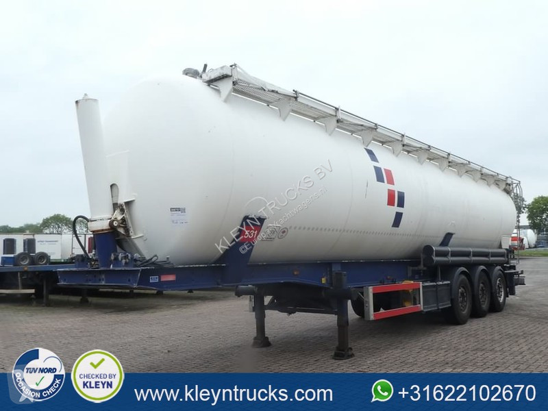 Voir les photos Semi remorque Feldbinder KIP 63-3 63m3 tipping silo