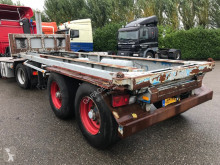 semi remorque Pacton 2530 NOR-2 20ft. Containerkiepchassis